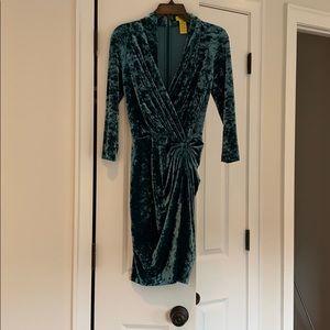 Catherine malandrino size 2 dress velvet look